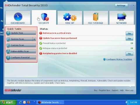 BitDefender Total Security 2010 Presentation