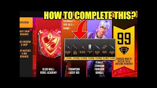 Free Gloo Wall Skin in Rampage Pass Event Free Fire | Rampage Pass Free Fire | FF New Event | Mgamer