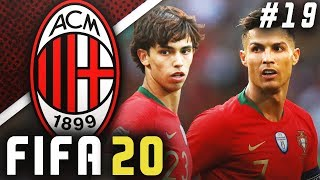 JOAO FELIX VS CRISTIANO RONALDO!! - FIFA 20 AC Milan Career Mode EP19