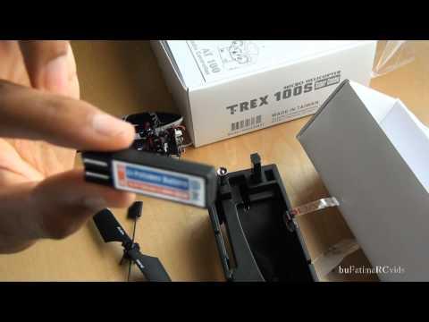 UNBOXING RC - ALIGN T-rex100 Super Combo - AMAZING Micro Heli