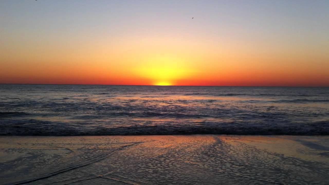 Sunrise At Virginia Beach Oceanfront April 8  2012 Hd 720p