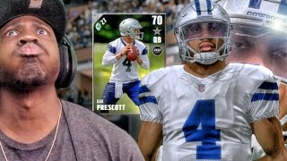 DAK DOMINATES FOR INJURED ROMO! Madden 17 Ultimate Team Gameplay Ep. 4