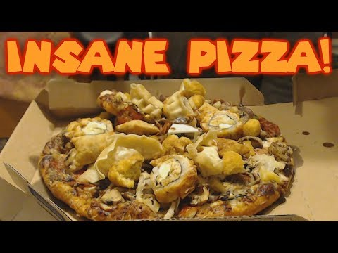 LOADED Pizza with INSANE Toppings!