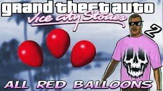 vuclip GTA VCS [:2:] ALL Hidden 99 Red Balloon Locations [100% Walkthrough]