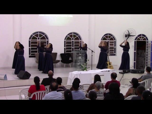 APRESENTAÇÃO FILHAS DE SIÃO NA SANTA CEIA DA IGREJA BETEL GEISEL