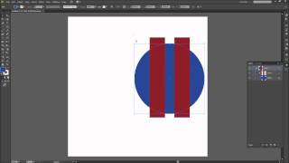 60 Second Illustrator Tutorial : Make a Clipping Mask -HD-