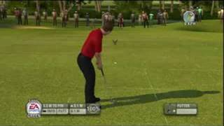 Tiger Woods PGA Tour 09 Demo Gameplay