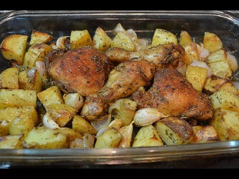 Baked Chicken & Potatoes