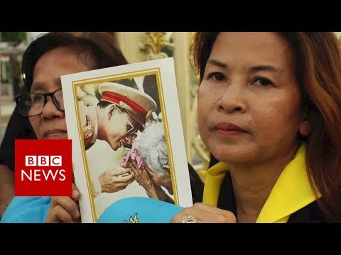 Thai king funeral: Thousands gather in Bangkok streets - BBC
