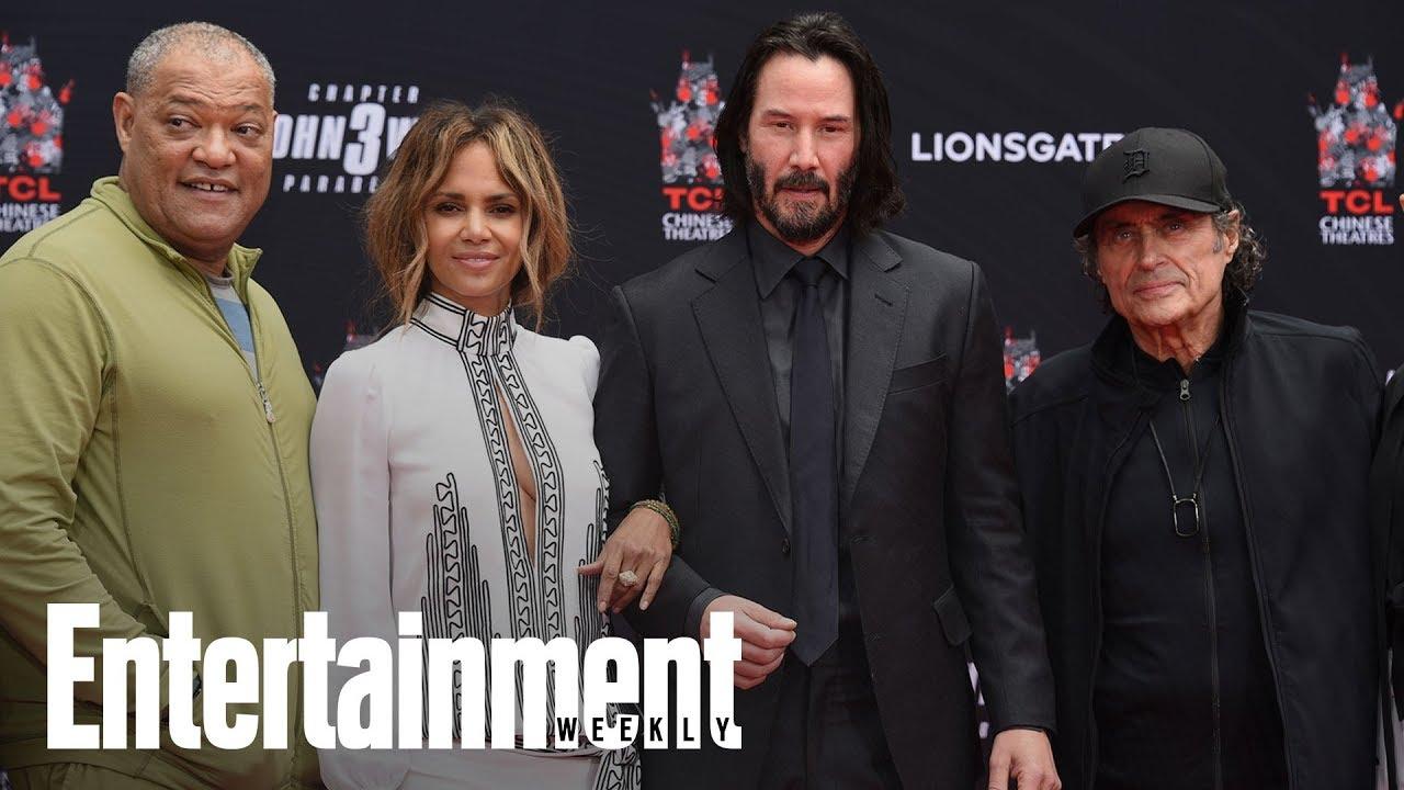 Keanu Reeves Hand & Footprint Ceremony | News Flash