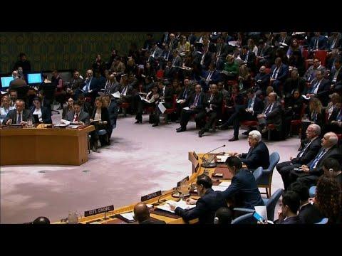 عباس يدعو امام مجلس الامن الى مؤتمر سلام دولي حول الشرق الاوسط