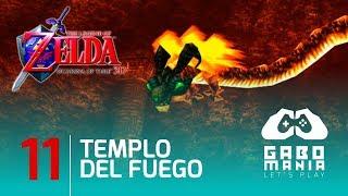 The Legend of Zelda Ocarina of Time HD (3DS) en Español Latino | Capítulo 11: Templo del Fuego