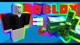 How to get rich in ROBLOX - Making the Gray Shirt With Zip