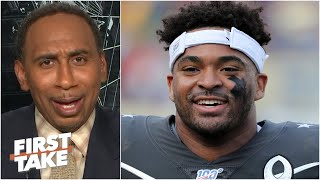 Stephen A. doesn't bląme Jamal Adams for requesting a trade from the 'pathetic' Jets   First Take