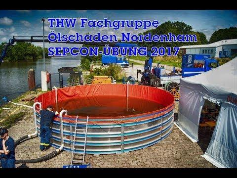 THW Fachgruppe Ölschaden Nordenham: SEPCON Übung 2017