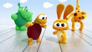 Video ¡Animales bailando el  twist!   BabyTV Español latino download MP3, 3GP, MP4, WEBM, AVI, FLV Juli 2018