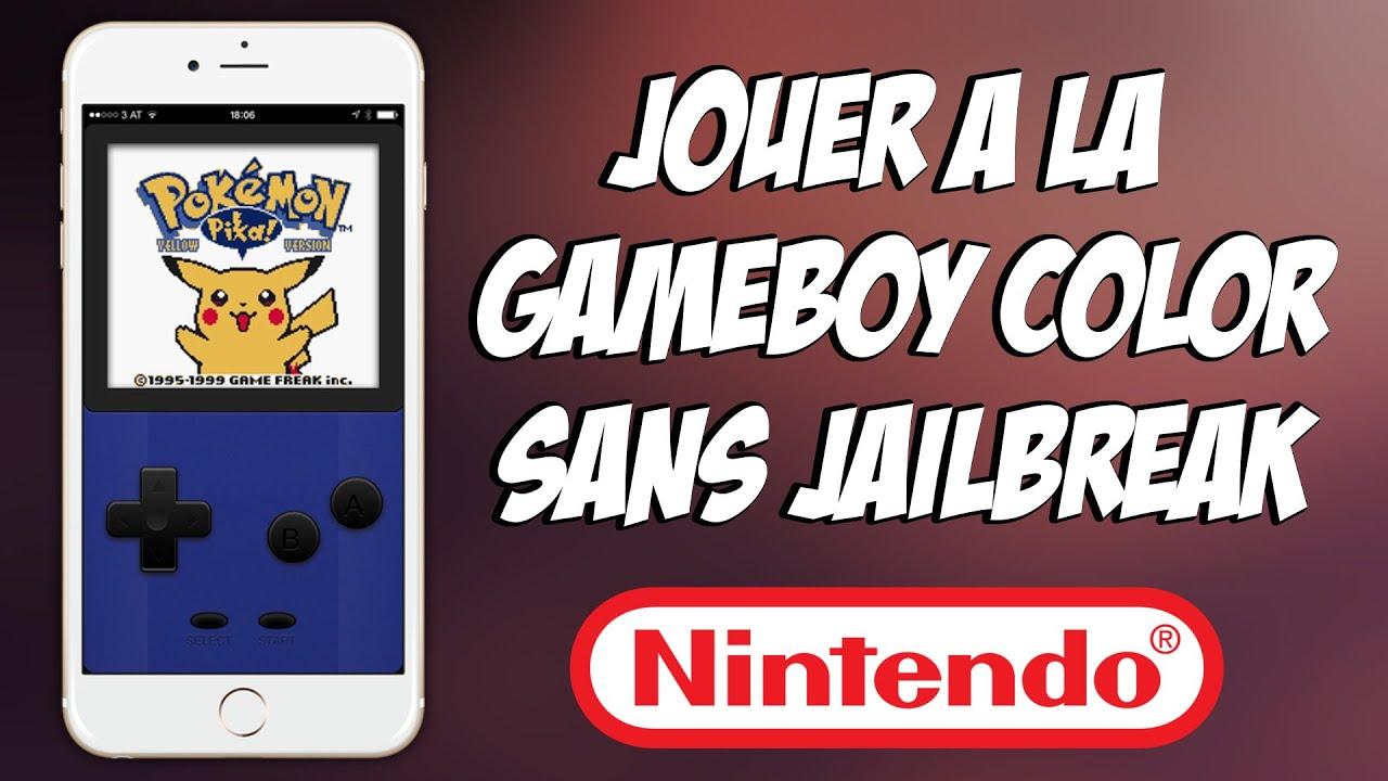 tuto jouer la gameboy color sur son iphone ipod touch et ipad sans jailbreak - Telecharger Jeux Game Boy Color
