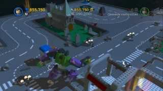 LEGO Batman 2 - LEGO Gotham City 1,000,000 Stud Challenge & Gold Brick(After you get 175 gold bricks in LEGO Batman 2 DC Super Heroes, there is a gold door that becomes available to build at the central Gotham City Park. This gold ..., 2013-07-01T03:38:20.000Z)