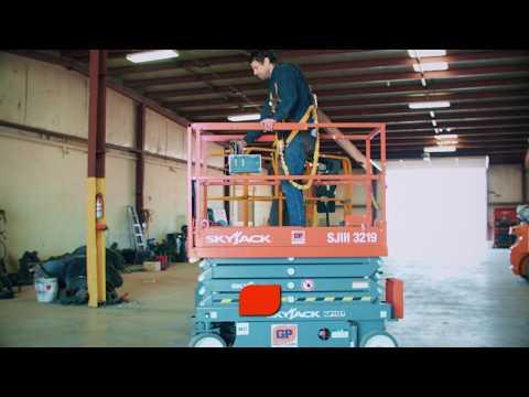 Scissor Lift Rental Lubbock - Great Plains Equipment Rental