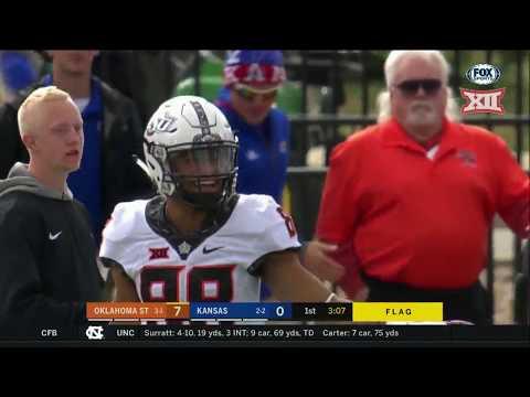 Oklahoma State vs Kansas Football Highlights