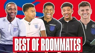 Rashford, Lingard & the Weather, Shocked Sancho and Rice Upsets Mount | Best of England | Roommates