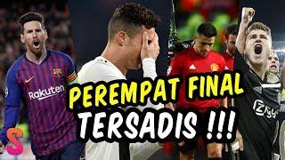 Babak Perempat Final Liga Champions Telah Usai, Berikut 6 Fakta Menariknya !!!