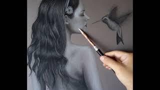 DESNUDO ARTÍSTICO - Dibujo en carboncillo -  ARTISTIC NUDE -  Drawing charcoal