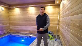 Отзыв клиента.Строительство бани с бассейном. Севастополь.Крым.