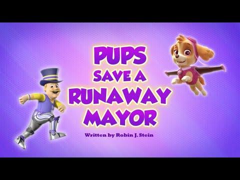 Видео: Pups Save a Runaway Mayor