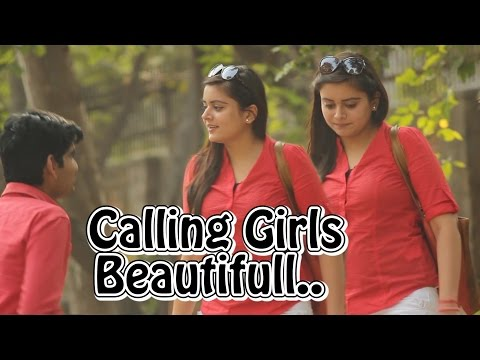 Calling Cute Girls 'Beautiful' Prank | Pranks in India | THF - Ab Mauj Legi Dilli |