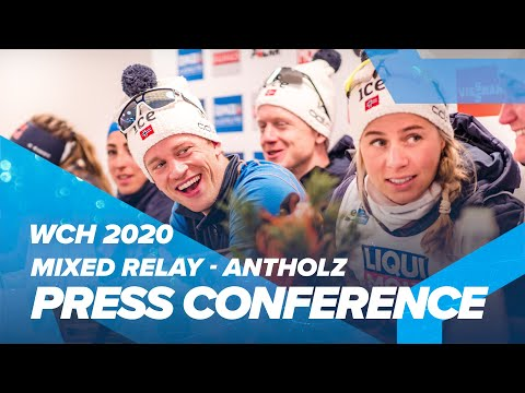 Antholz 2020: Mixed Relay Press Conference
