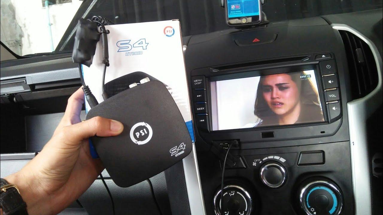 รีวิว ติดกล่อง PSI S4 ในรถยนต์ ดูทีวี youtube ออนไลน์ ได้โดยไม่ต้องต่อเสารับสัญญาณ