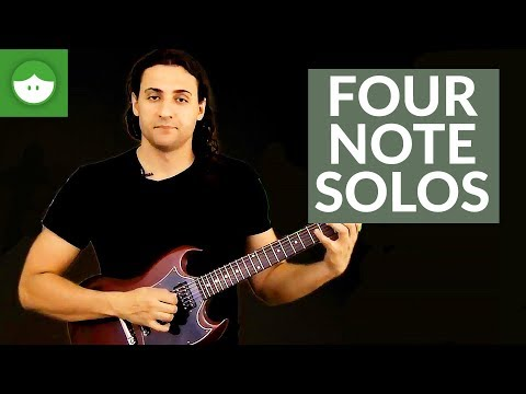 How To Create Solos With Four Notes