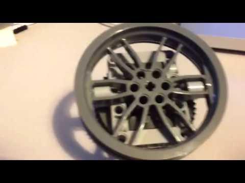 LEGO High Torque Gear Train - YouTube