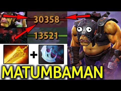MATUMBAMAN Dota 2 [Alchemist] WTF Farming 3x Net Worth SF