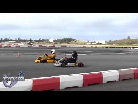 Bermuda Karting Club Racing Feb 6th 2011