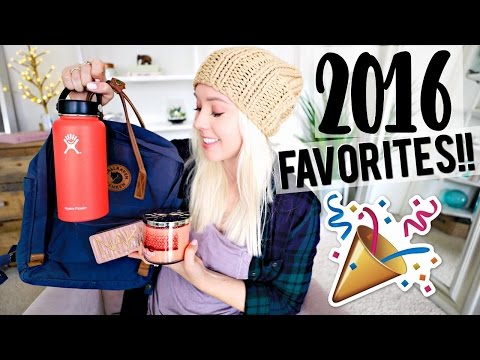 2016 Favorites! Fashion, Beauty, Travel!