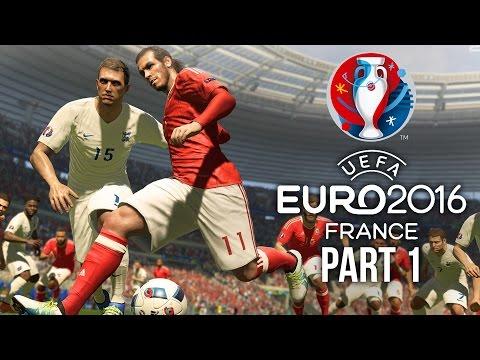 Euro 2016 Gameplay Walkthrough Part 1 - FIRST MATCH (PES 2016 UEFA EURO 2016)