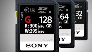 Su Geçirmeyen Dünyanın En Hızlı Sd Kart Markası Sony Türkiye'de Satışa Çıkıyor