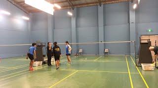 U17 Australasian championships Timothy  and Joanne vs Austin and Ella