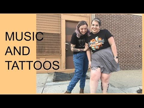 What's the Relationship between Music and Tattoos? Tattoo Talk Tuesday.