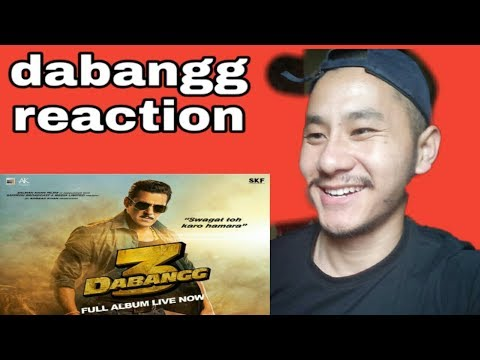 Foriegner reaction on dabang 3 trailer|salman khan ||sonakshi sinha|pravu dheva