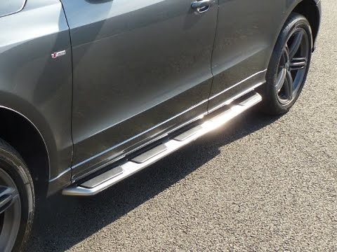 audi q5 oe style side steps fitting video by direct 4x4 youtube rh youtube com 2011 Audi Q7 Owner's Manual Audi Q7 Racks