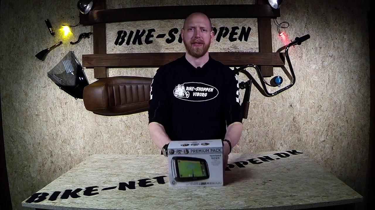 Tomtom Rider 410 Premium Pack GPS -- Bike-netshoppen dk