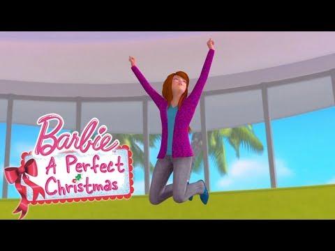Смотреть мультфильм рождество барби
