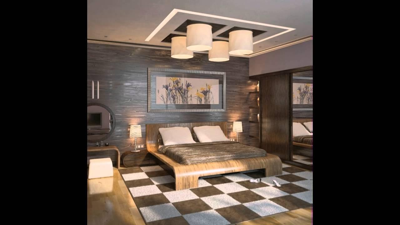 Braun Creme Modern Schlafzimmer