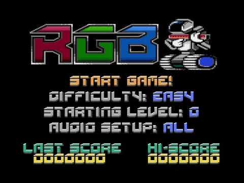 RGB !!! = ATARI 800 XL= AMAZING GAME !!!!