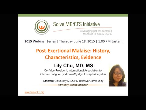 Post-Exertional Malaise: History, Characteristics, Evidence