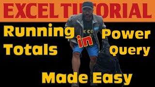 Running Totals in Excel's Power Query: the easy way