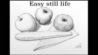 How can I draw easy still life